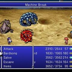 Machine Break.