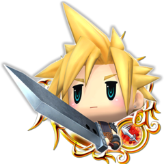 <i>Kingdom Hearts Unchained χ</i>.
