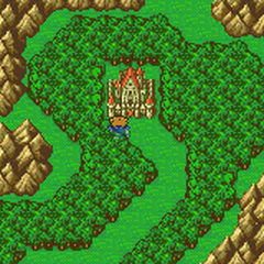 Castle Tycoon on the Merged World Map (GBA).