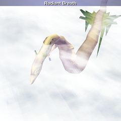 Mist Dragon being summoned (iOS).