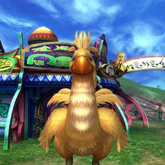 Chocobo in <i>Final Fantasy X-2</i>.