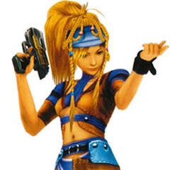 Rikku as a Gunner.