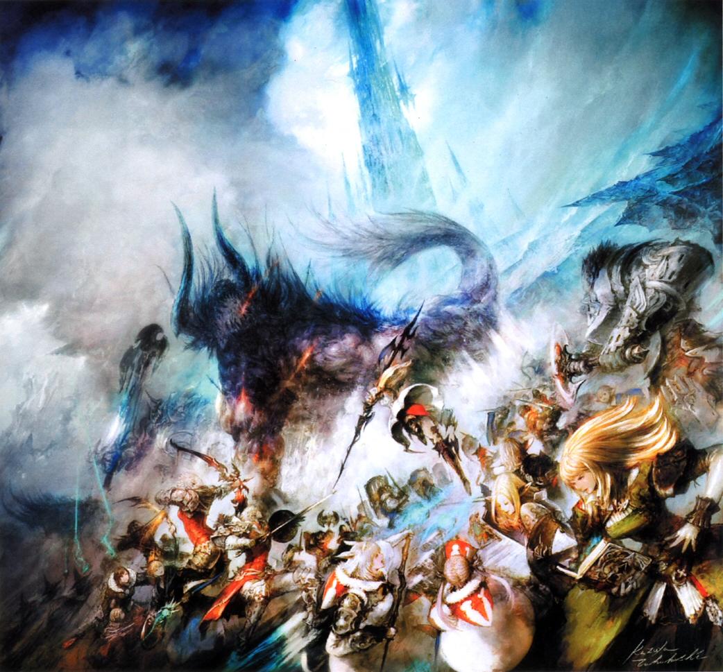 Watercolor artists directory wiki - Image Ffxiv Arr Cover Art Jpg Final Fantasy Wiki Fandom Powered By Wikia