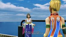 Yuna's decision Eternal Calm