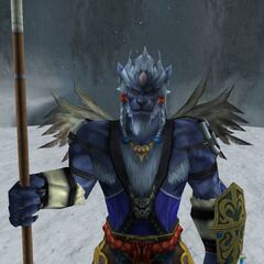 Kimahri's victory pose in <i><a href=