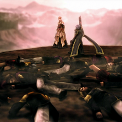 Kurasame and the cadets died after summoning Alexander.