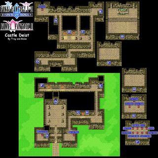 Castle Deist's Map (GBA).