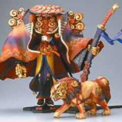 Yojimbo, from Final Fantasy X Action Figure Collection.