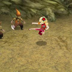Ursula's Kick during the cutscene in <i><a href=
