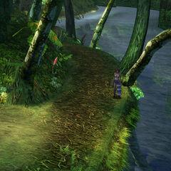 Kilika Woods in <i>Final Fantasy X-2</i>.