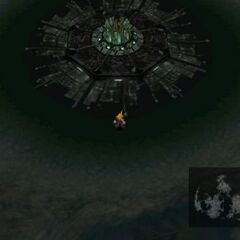 Midgar Wasteland on the world map.
