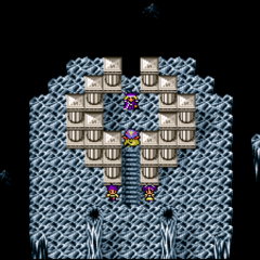 Cave Bahamut (SNES).