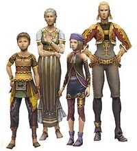 Люди из Final Fantasy XII.