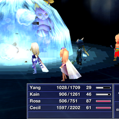 Ultima (front-view) <i>Final Fantasy IV</i>(iOS).