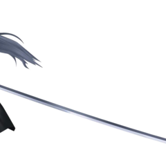 Sephiroth's <i>Final Fantasy VII</i> render from <i>Dissidia 012 Final Fantasy</i>.