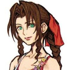 Aerith's <i>Crisis Core -Final Fantasy VII-</i> artwork by <a href=