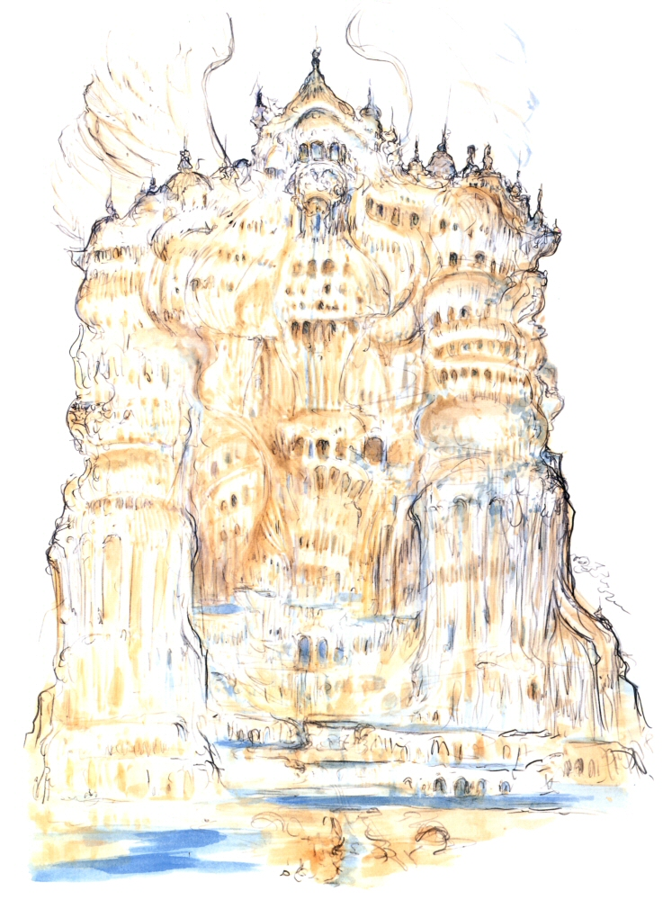 Image Ffix Amano Alexander Jpg Final Fantasy Wiki