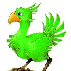 Green Chocobo.