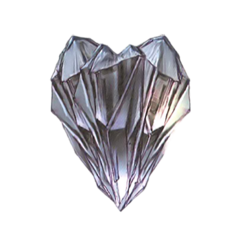 Snow's Crystarium crystal.