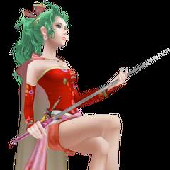 Terra's first alt outfit, based on her <i>Final Fantasy VI</i> sprite.