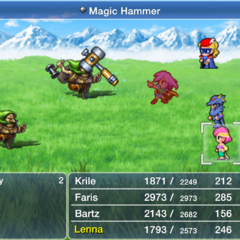<i>Final Fantasy V</i> (iOS).