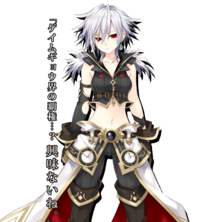 S-Sha, a parody character referred to Square Enix.