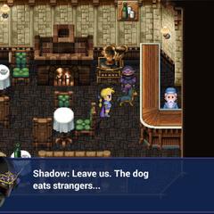 Shadow introduces his dog (iOS).