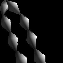 The field model for Dyne's pendant.