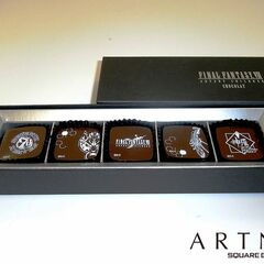 Official <i>FFVII</i> chocolates.