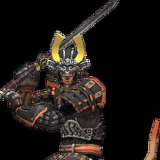 A Mithra Samurai in Artifact Armor.
