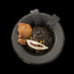 Squid ink pasta of Spriggan