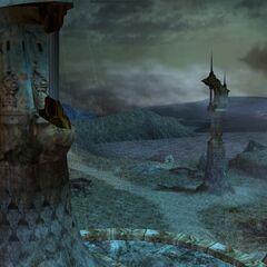 Thunder plains in <i>Final Fantasy X</i>.