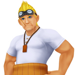 Appearance in <i>Kingdom Hearts</i>.