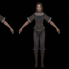 Character model for Al-Cid's assistant.