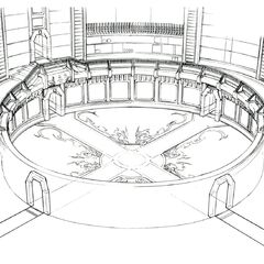Foyer concept art.