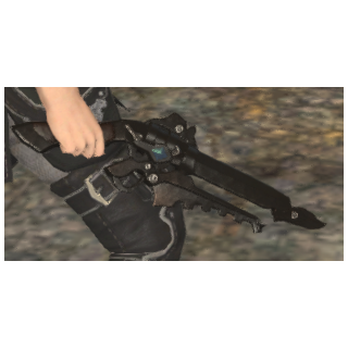 Cid's gunblade.