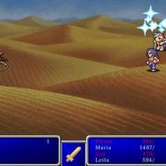 Cure X from <i>Final Fantasy II</i> (iPod).