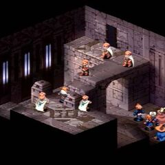 The party confronts Dycedarg in the castle's keep.