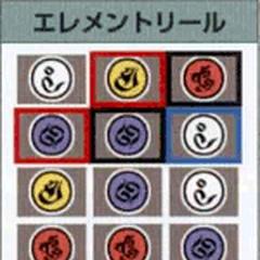 Slots for Elemental Reels in <i>Final Fantasy X</i>.