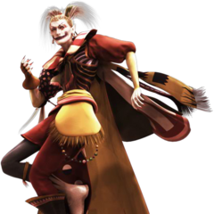 FMV render of Kefka from <i>Dissidia Final Fantasy</i>.
