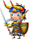 Le Guerrier dans Theatrhythm Final Fantasy