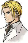 Portrait de Rufus dans Before Crisis -Final Fantasy VII-