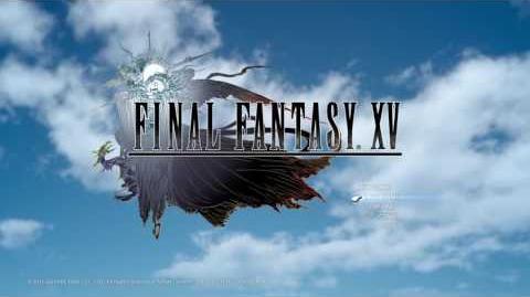 Final Fantasy XV Menu Screen Day & Night Timelapse w Somnus Title Music 1080p 60fps