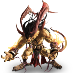 Render of Ifrit.