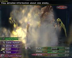 FFX-2 Stone Breath