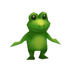 Toad render for Palom in <i>Final Fantasy IV</i> (iOS).