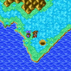 Marsh Cave on the World Map (GBA).