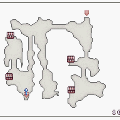 Map of Underground Entrance North - B1 (DS).