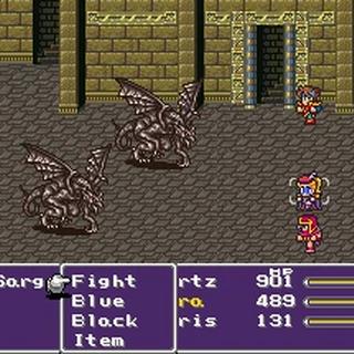 A battle with Gargoyles.
