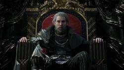 Regis Sitting On Throne